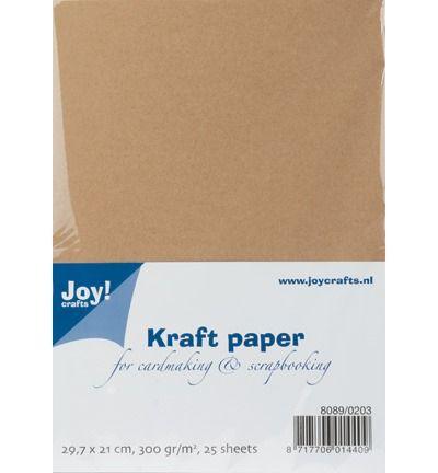Kraft Paper 300 grams A4