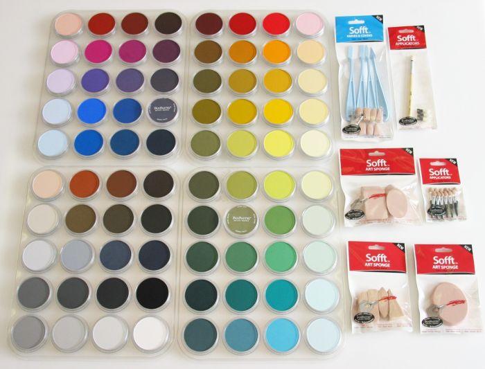PanPastels 80 kleuren inclusief tools