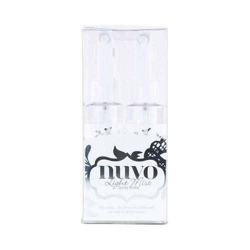 Nuvo light mist spray bottle - 2 pack
