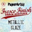 PaperArtsy Fresco Finish - Metallic Glaze