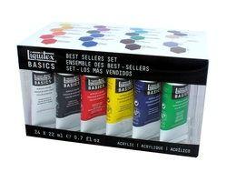 Basics Acrylverf Best Sellers set - 24 tubes 22ml