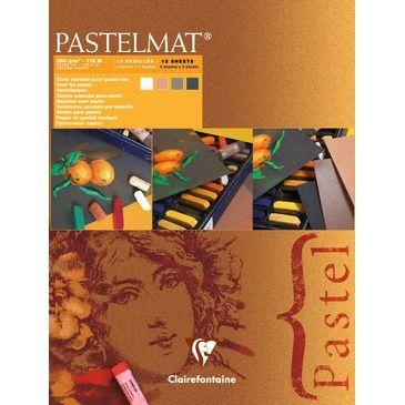 Pastelmat pad N°2 new shades 360g 18x24cm 12vel