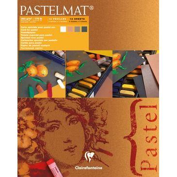 Pastelmat pad N°2 new shades 360g 24x30cm 12vel