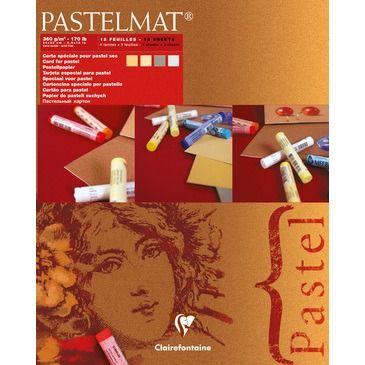 Pastelmat pad N°1 4 shades 360g 24x30cm 12 vel