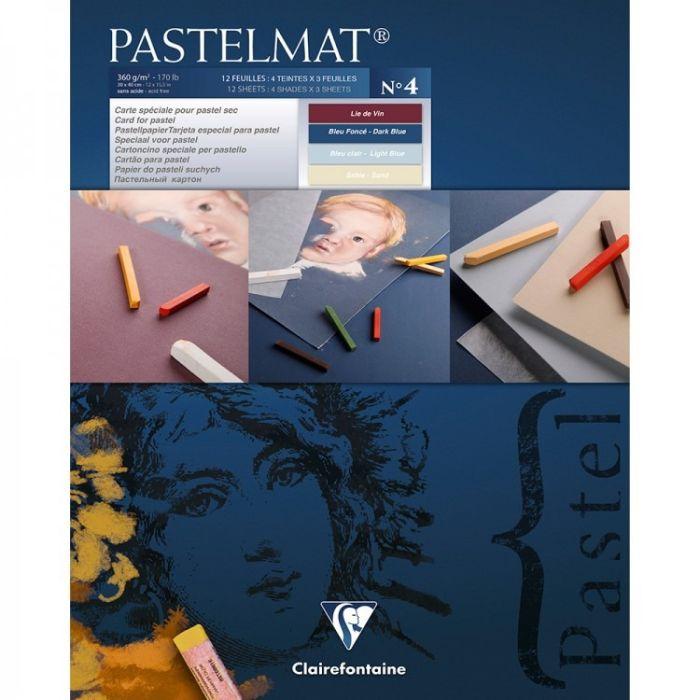 Pastelmat pad N°4 360g 24x30 12vel