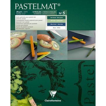 Bloc Pastelmat n°5 360g 24x30 12 vel