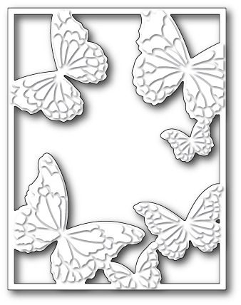 Memorybox Hovering Butterfly Frame craft die