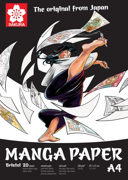 Sakura Manga Papier A4