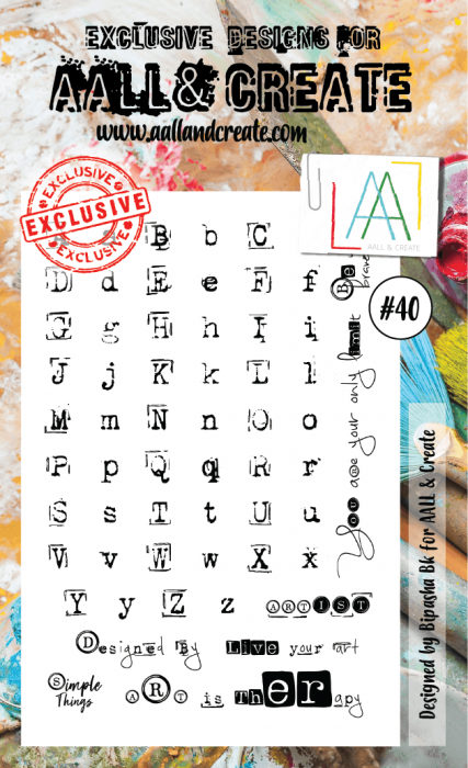 AALL & Create A6 Stamp set #40