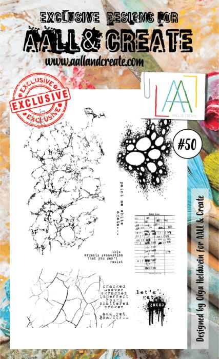 AALL & Create A6 Stamp set #50