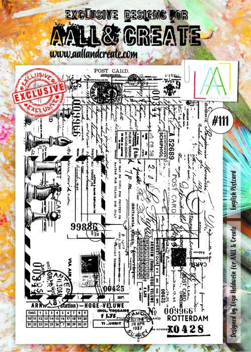 AALL & Create A4 Stamp set #111