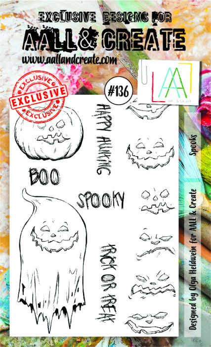 AALL & Create A6 Stamp set #136