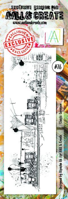 AALL & Create border Stamp set #76