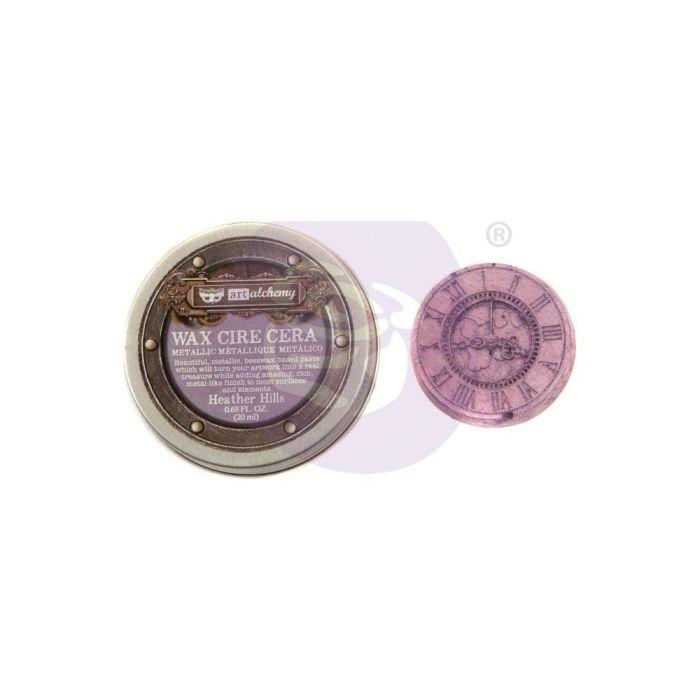 Finnabair Art Alchemy Metallique Wax .68 Fluid Ounce Heather Hills