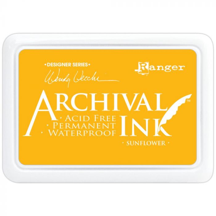 Wendy Vecchi Designer Series Archival Ink Pad Sunflower