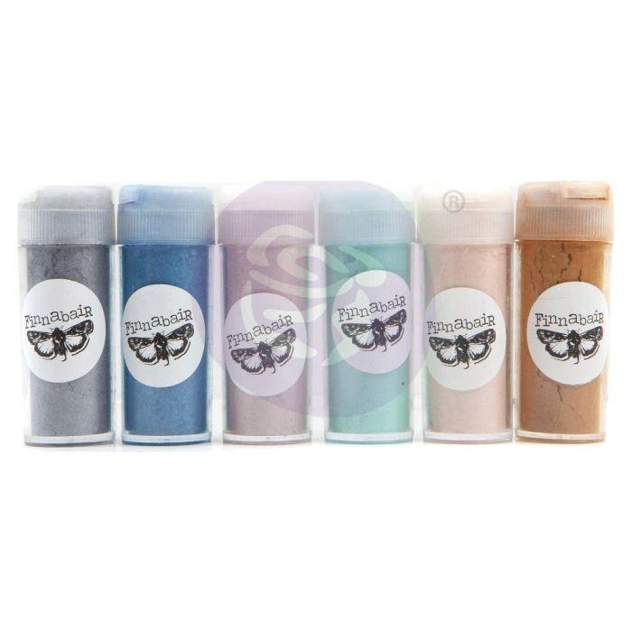 Finnabair Art Ingredients Mica Powder Set 7g 6/Pkg Serenity