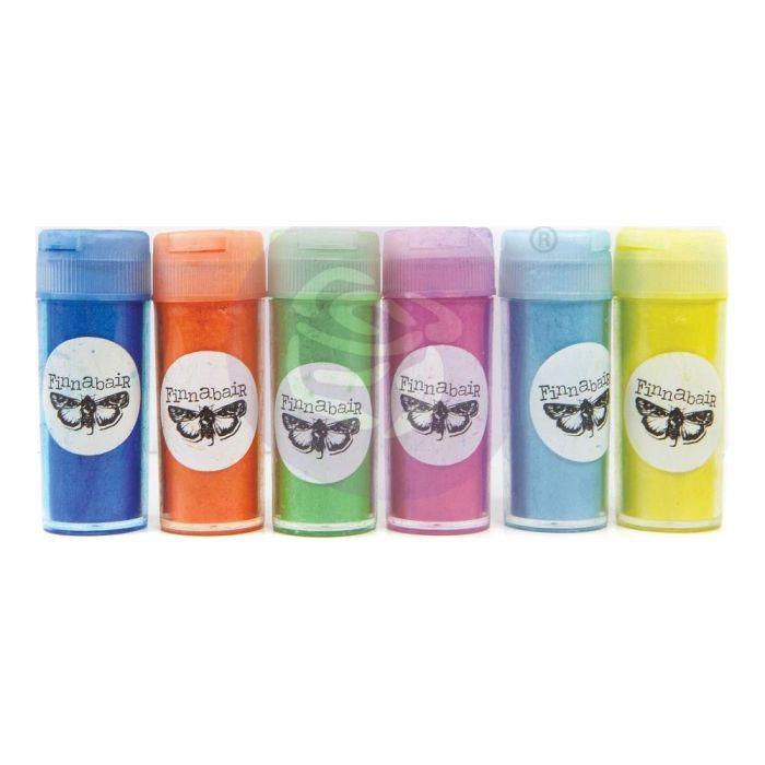 Finnabair Art Ingredients Mica Powder Set 7g 6/Pkg Paradise