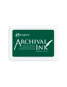 Archival Ink Library Green Pad
