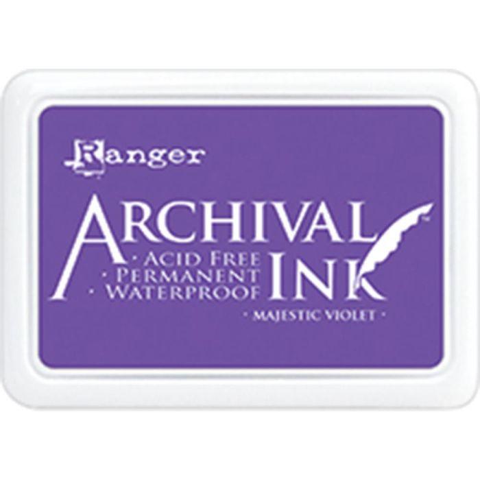 Archival Ink Pad Majestic Violet