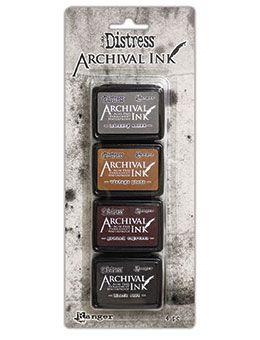 Pre-order Tim Holtz Distress Archival Mini Ink Kit Kit 3
