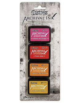 Pre-order Tim Holtz Distress Archival Mini Ink Kit Kit 1