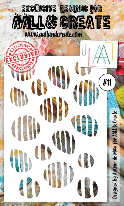 AALL & Create 6'x4' (15x10cm) Stencil #11