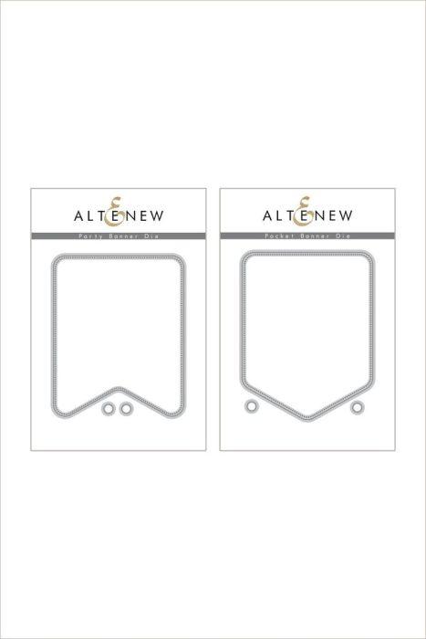 Altenew Party Banner & Pocket Banner Die Bundle