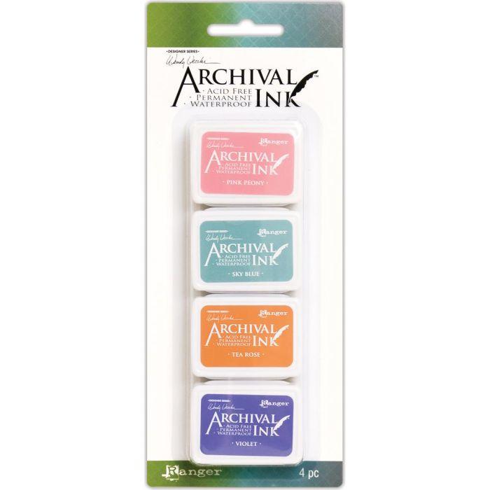 Wendy Vecchi Mini Archival Ink Pads Kit #3