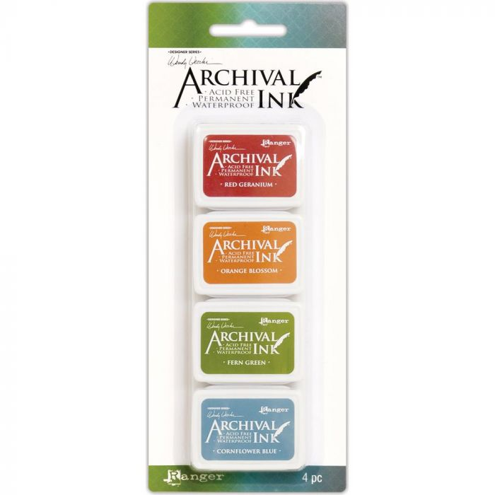 Wendy Vecchi Mini Archival Ink Pads Kit #4