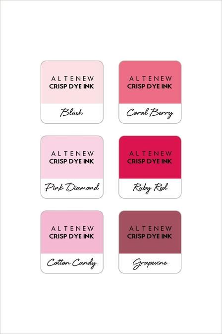 Altenew Ballet Slippers 6 Mini Cube Set
