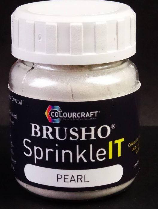 Brusho SprinkleIT 10g - Metallic Pearl