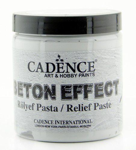 Cadence Beton Effect Relief Pasta Grijs BR250  250 ML