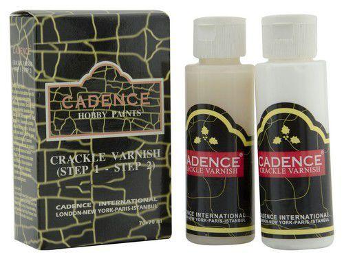 Cadence crackle vernis (transparent crackle) set 01 130 0000 7070 70+70ml