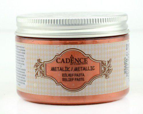 Cadence Metallic Relief Pasta Koper 01 085 5927 0150  150 ml