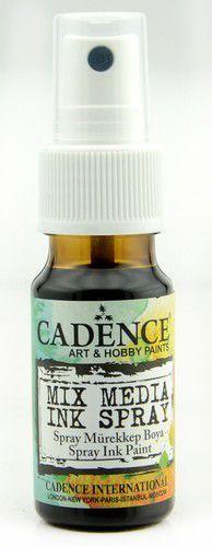 Cadence Mix Media Inkt spray Donker bruin 01 034 0011 0025   25 ml