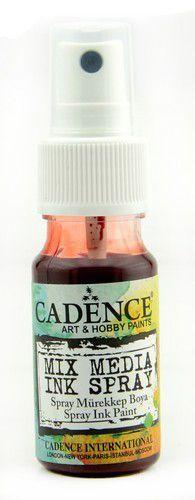 Cadence Mix Media Inkt spray Rood 01 034 0016 0025  25 ml