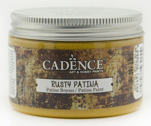 Cadence rusty patina verf Oxide geel 01 072 0008 0150  150 ml