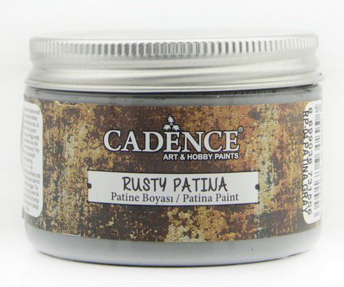 Cadence rusty patina verf Patina grijs 01 072 0004 0150  150 ml