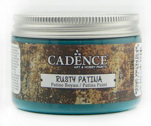 Cadence rusty patina verf Patina Green 01 072 0002 0150  150 ml
