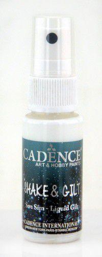 Cadence shake & gilt liquid gilt spray Koper 01 074 0003 0025  25 ml