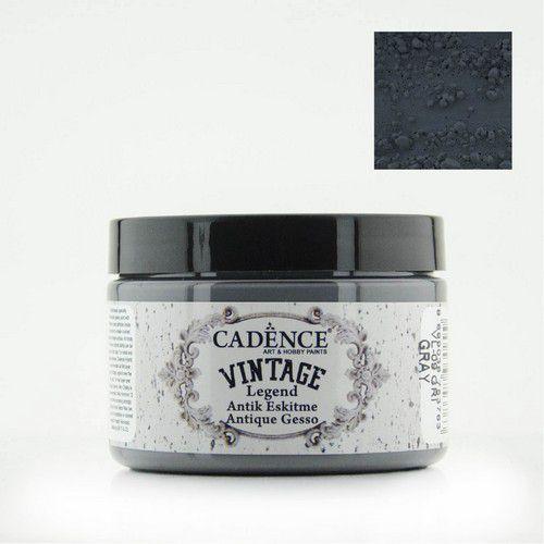 Cadence Vintage Legend gesso Grijs 01 025 0009 0150  150 ml