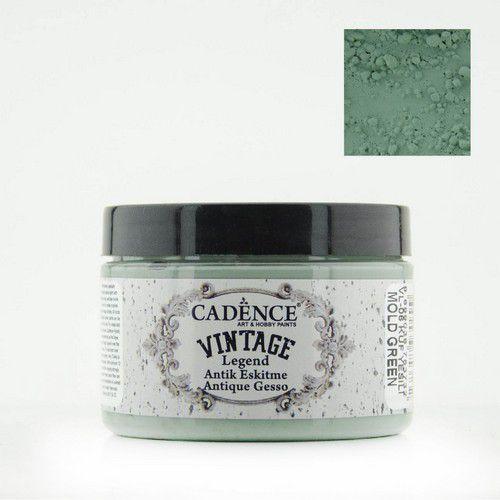 Cadence Vintage Legend gesso Mould Green 01 025 0006 0150  150 ml