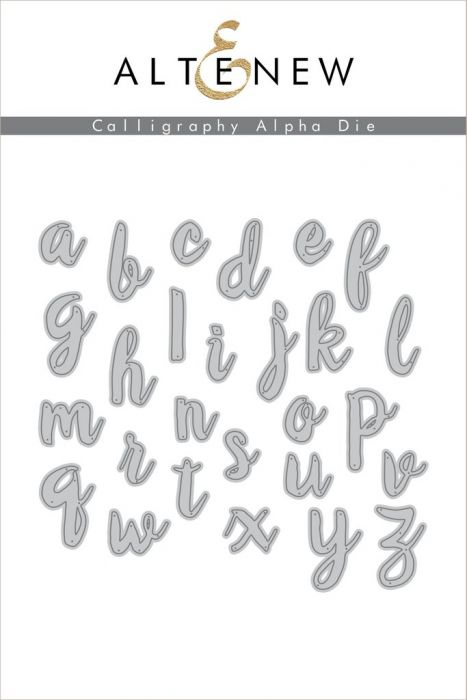 Altenew Calligraphy Alpha Die Set