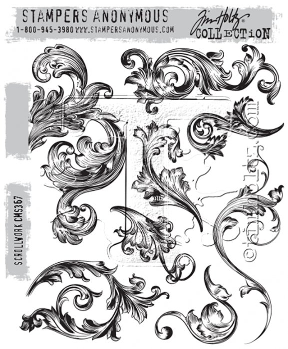 Pre-order Tim Holtz Cling Stamps 7