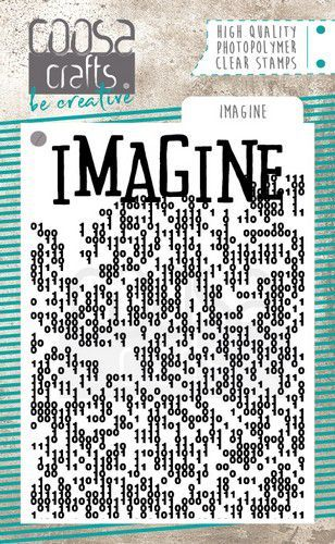 COOSA Crafts Clearstamps A7 - Imagine