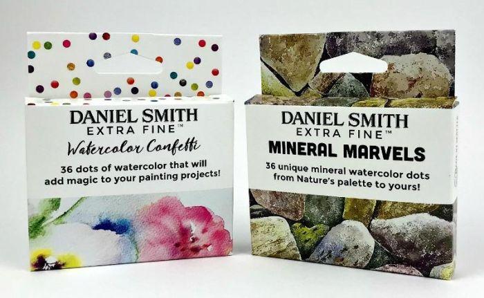 2x set DANIEL SMITH Watercolor Dot Card Set  Confetti en Marvels