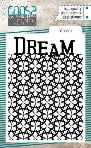 COOSA Crafts clearstamps A7 - Dream