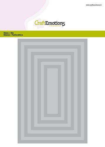 CraftEmotions Big Nesting Die - rechthoeken Card 150x160 - 6