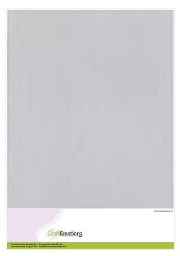 Transparante sheets A4 1PK/5VL