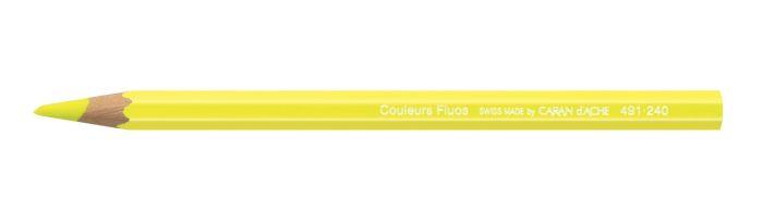 COLOUR BLOCK MAXI PENCI. FLUO YELLOW-FSC